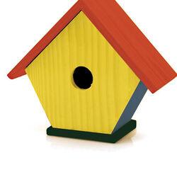 Casetta per uccellini da colorare, , large