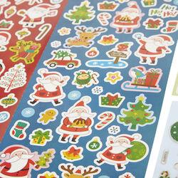 Adesivi natalizi - Set da 83 pz, , large