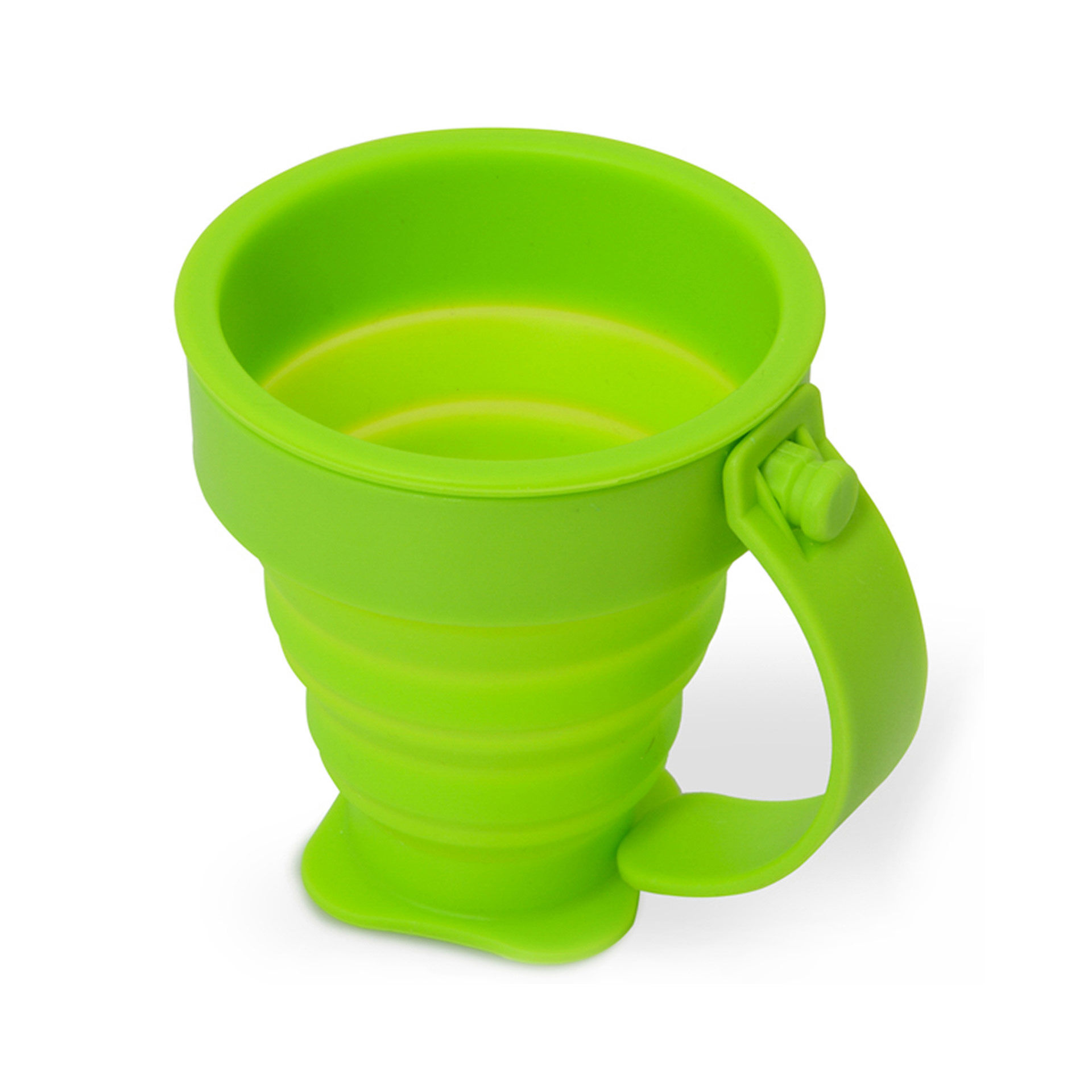 Tasse pliante en silicone, , large