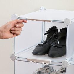 Mobiletto 6 vani per scarpe, , large