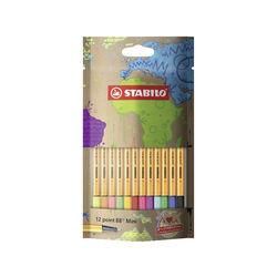 Fineliner - STABILO point 88 Mini - #mySTABILOdesign - Pack da 12, , large