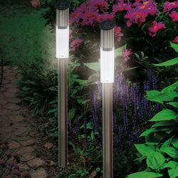 Set di 2 lampioncini tubolari, , large