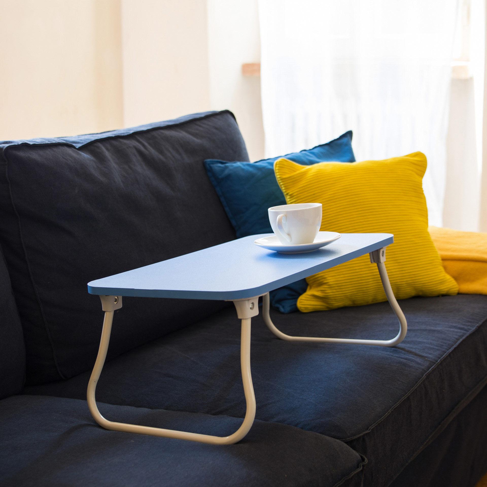 Petite table pliante pour lit et canapé, , large