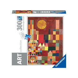 Ravensburger Puzzle 300 pezzi 14844 - PAUL KLEE : CASTLE AND SUN, , large