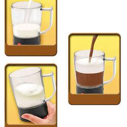 Emulsionatore schiuma cappuccino, , large