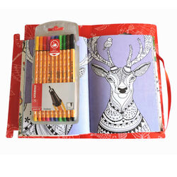 STABILO Art Therapy Notebook, , large