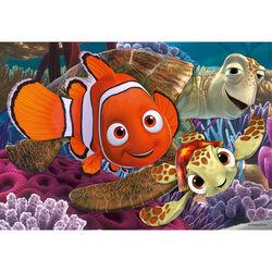 Ravensburger Puzzle 2x12 pezzi 07556 - Alla ricerca di Nemo, , large