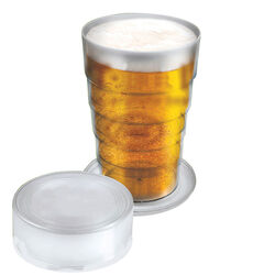 Bicchiere pinta pop up trasparente, , large