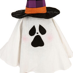 Fantasmino Halloween con sensore di movimento, , large