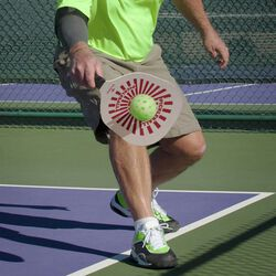 Set 2 racchette con 2 palline da Pickleball, , large