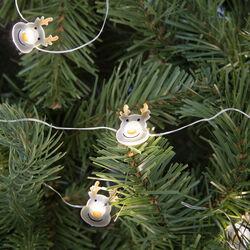 Ghirlanda di Natale con 20 luci led a batteria, , large