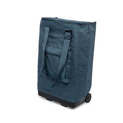 Trolley pieghevole per la spesa - blu, blu, large