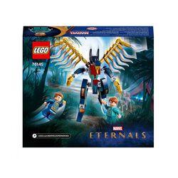 LEGO Marvel Assalto Aereo Degli Eternals, Giocattoli per Bambini di 7 Anni e Più 76145, , large