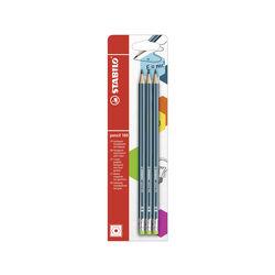 Matita in grafite - STABILO Pencil 160 - con gommino -, , large