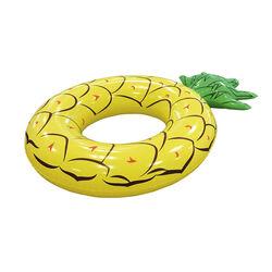 Maxi ciambella salvagente gonfiabile ananas, , large