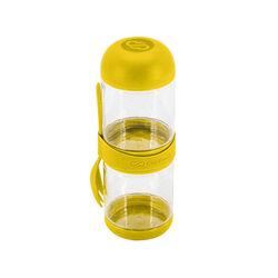 Contenitore porta macedonia 2 scomparti - Colore giallo, giallo, large