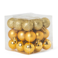 Palline per albero di Natale - Set da 27 pz, , large