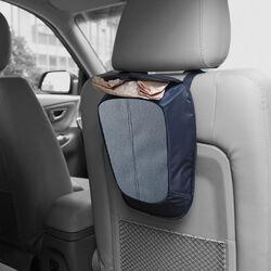 Cestino contenitore  e portaoggetti per sedile da auto, , large