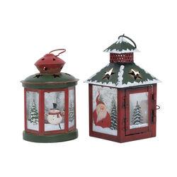 Lanterna natalizia -  Base quadrata, , large