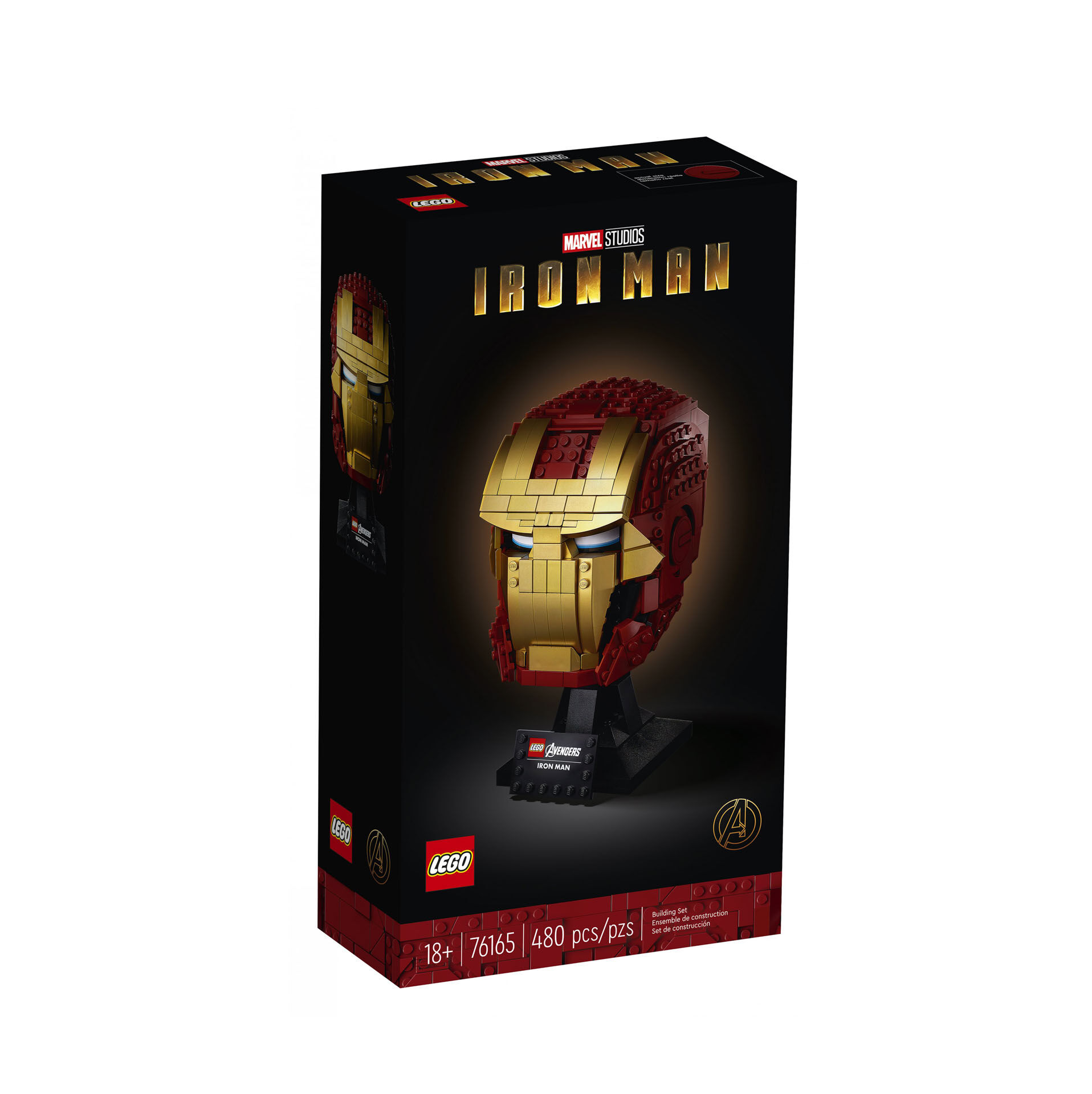 Casque d'Iron Man 76165, , large