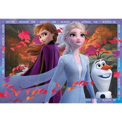 Ravensburger Puzzle 2x24 pezzi 05010 - Frozen, , large