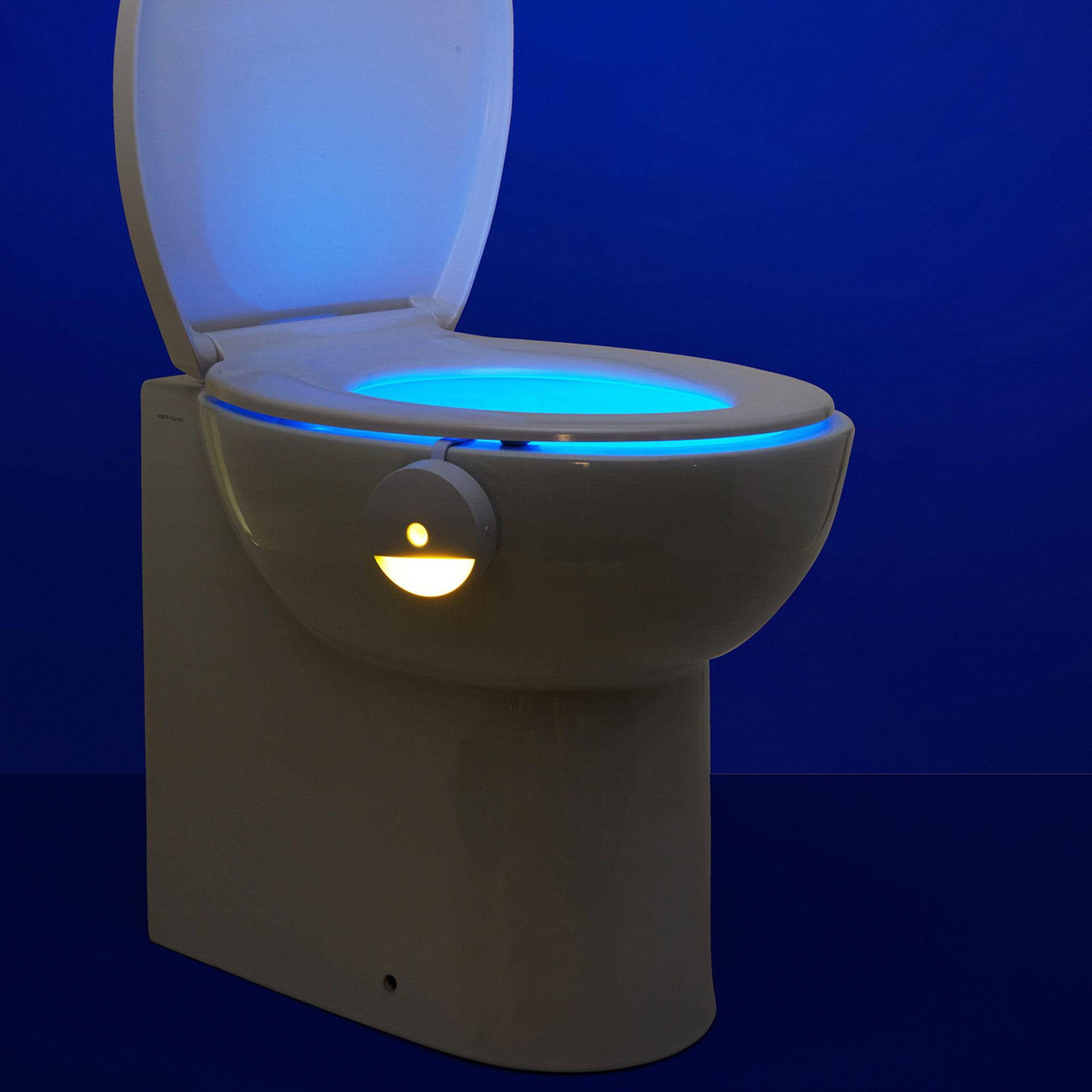 Éclairage changeant de couleur pour toilettes, , large