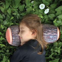 Cuscino a forma di tronco di albero, , large