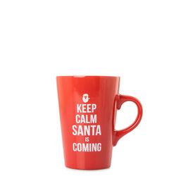 Tazza Keep calm Santa is coming, , large