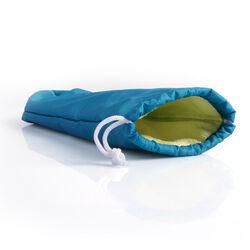 Borsetta porta ombrello assorbi acqua azzurra, , large