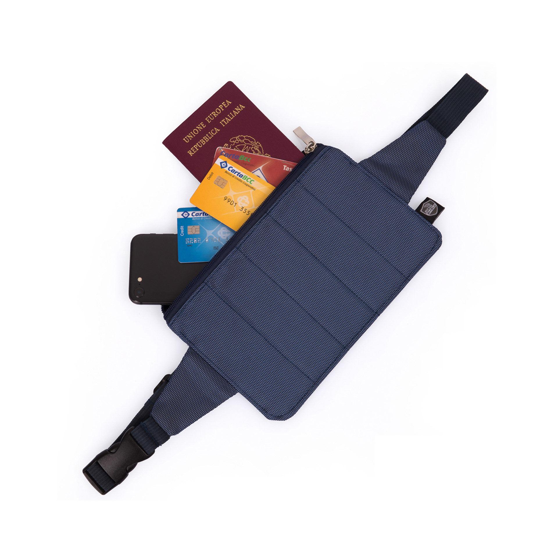 Banane de voyage avec dispositif antivol RFID, , large