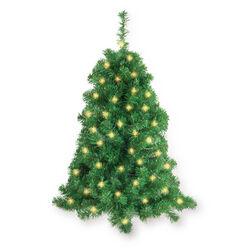 Albero di Natale da parete con luci LED, , large