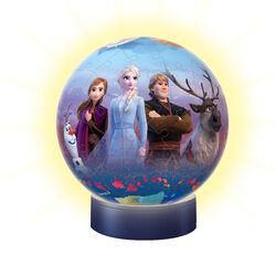 Ravensburger Puzzle 3D Lampada notturna 12190 - Frozen, , large