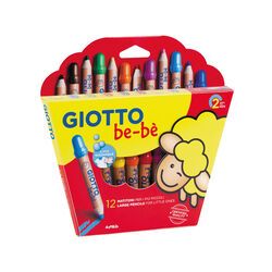 Giotto be-be Astuccio 12 Matitoni, , large