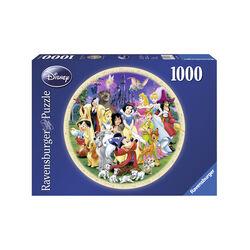 Ravensburger Puzzle 1000 pezzi 15784 - Protagonisti Disney, , large