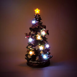 Albero di Natale con luci e musica, , large