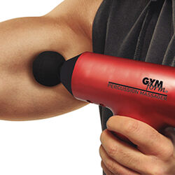 Visti in TV Massaggiatore a percussione per il corpo gymform massage gun, , large