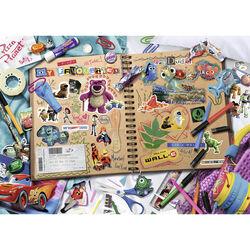 Ravensburger Puzzle 1000 pezzi 19816 - Disney Pixar Scrapbook, , large