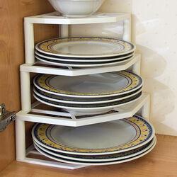 Organizzatore angolare per piatti, , large