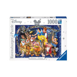 Ravensburger Puzzle 1000 pezzi 19674 - Disney Classics Biancaneve, , large