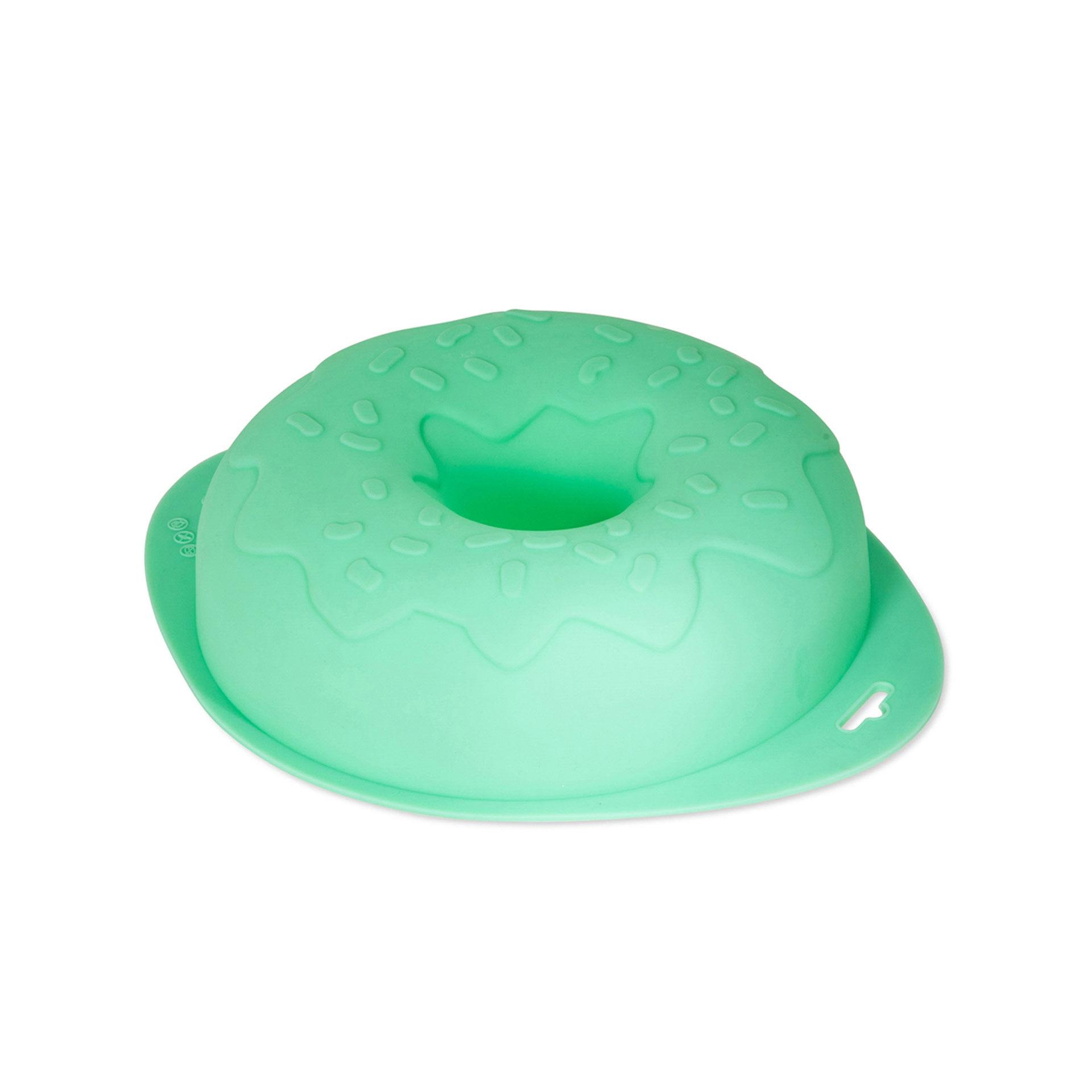 Moule en silicone pour maxi gâteau en couronne, , large