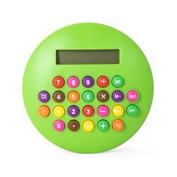 Calcolatrice rotonda - verde, verde, large