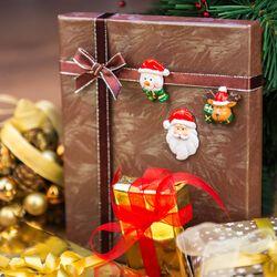 Set 6 chiudipacco natalizi, , large