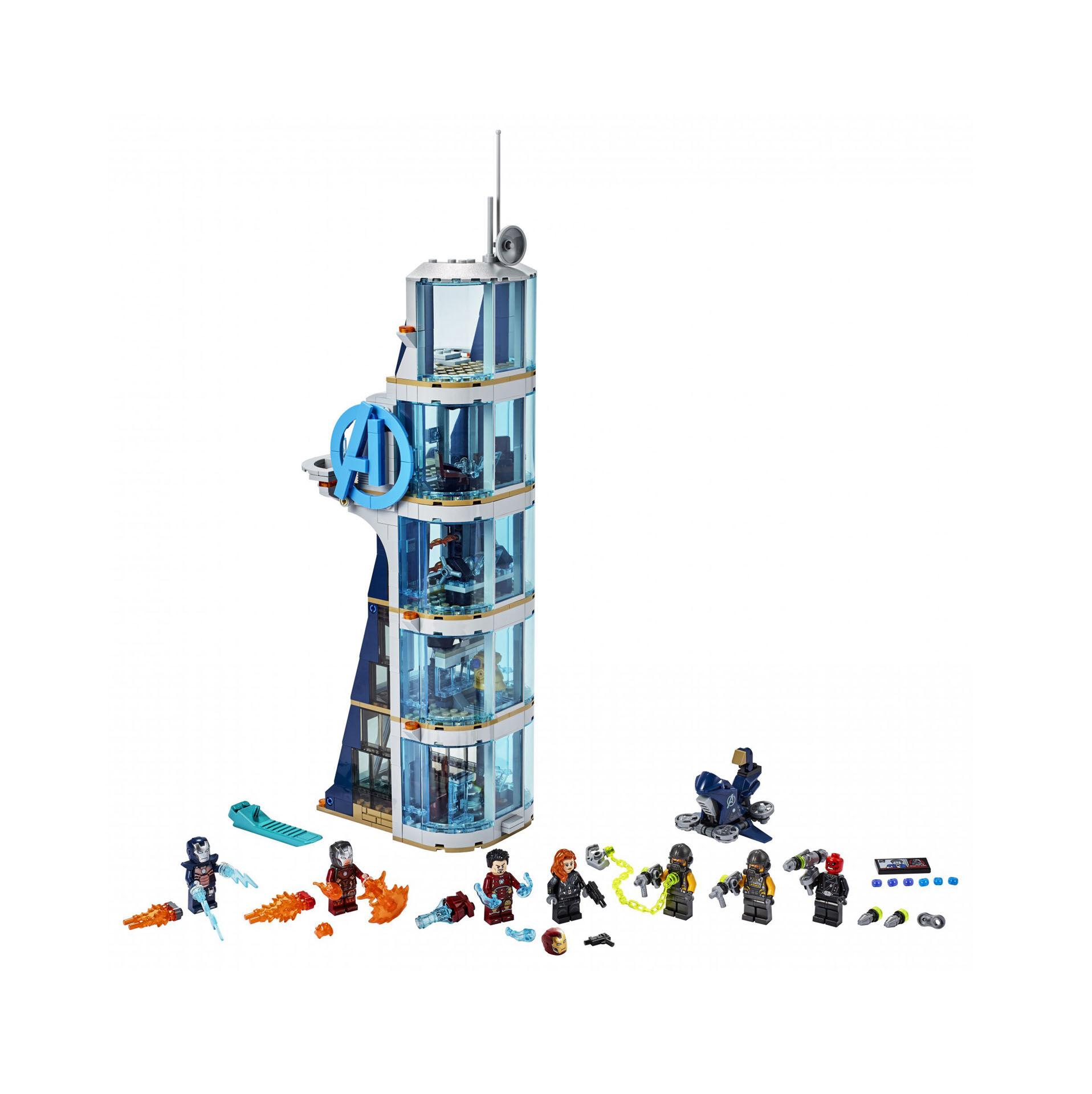 La tour de combat des Avengers 76166, , large