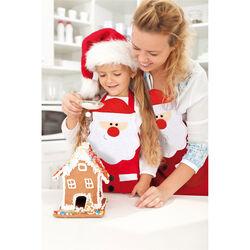 Grembiule Babbo Natale per adulti, , large