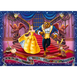 Ravensburger Puzzle 1000 pezzi 19746 - Disney Classic La bella e la Bestia, , large