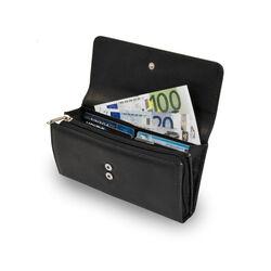 Portafogli per euro in ecopelle, , large