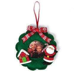 Portafoto natalizio da appendere, , large
