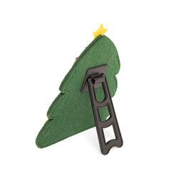 Cornice portafoto albero di Natale - verde scuro, verde scuro, large