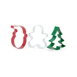 Stampi natalizi per biscotti set da 3 pz, , large