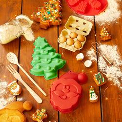 Stampo in silicone per dolci a forma di albero di Natale, , large